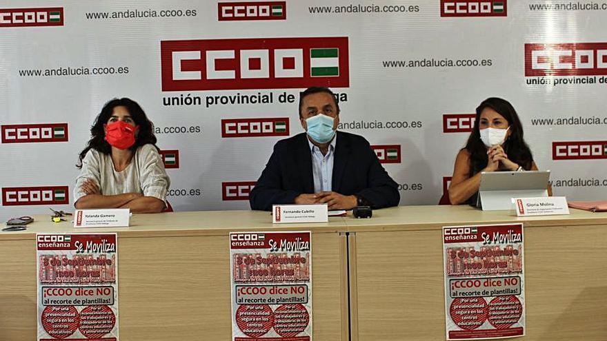 CCOO denuncia el recorte de más de 500 docentes para el nuevo curso escolar en Málaga