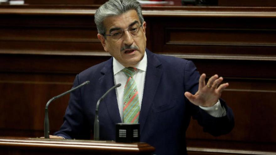 """Román Rodríguez: """"No vamos a tocar la fiscalidad ni recortaremos el gasto público"""""""