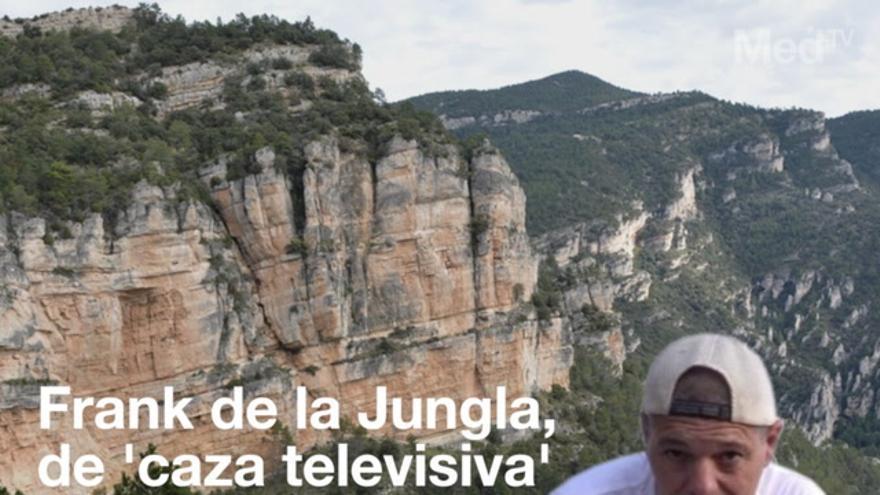 Frank de la Jungla, de 'caza televisiva' en Castellón