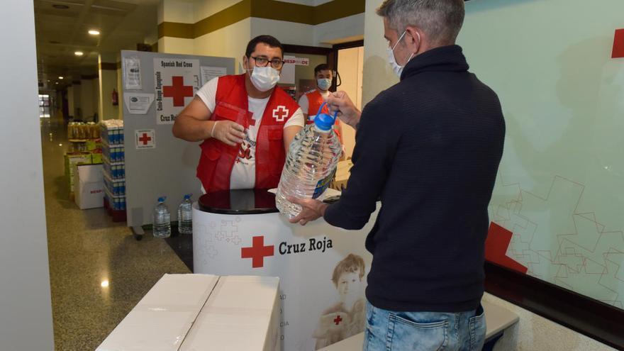 Cruz Roja en Las Palmas distribuye 338.597 kilos de alimentos