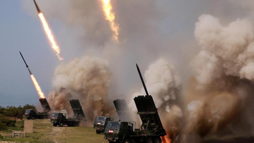 Corea del Norte dispara proyectiles no identificados