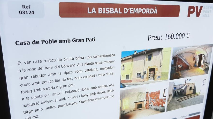 El teletreball incrementa el lloguer i la venda de cases de poble i pisos amb terrassa a les comarques gironines
