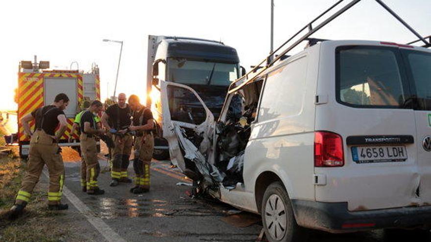 105 persones van morir en accidents de trànsit a Catalunya el 2020
