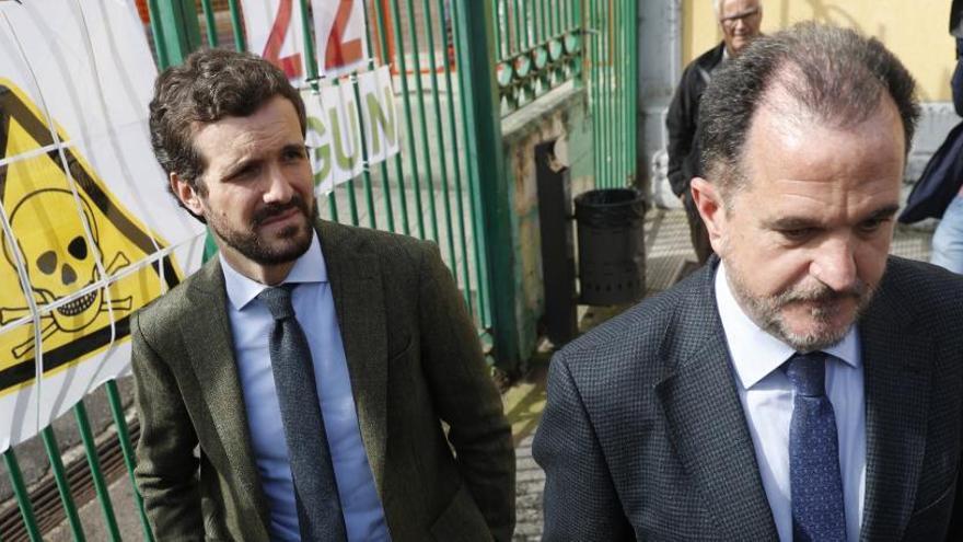 """Casado alaba la """"generosidad"""" del PP con Ciudadanos"""