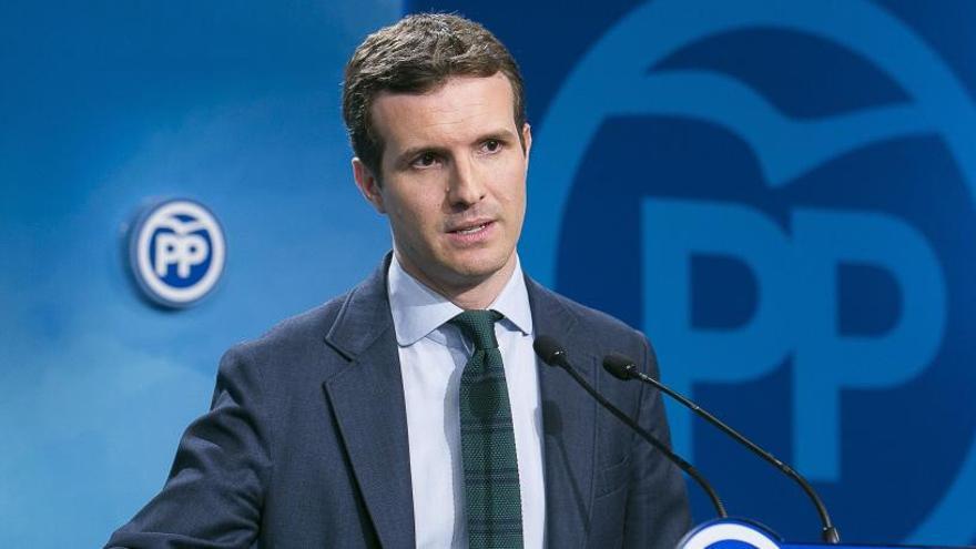 Pablo Casado anuncia la seva candidatura a presidir el PP