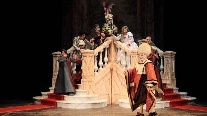 El burgués gentilhombre, de Teatro de Papel