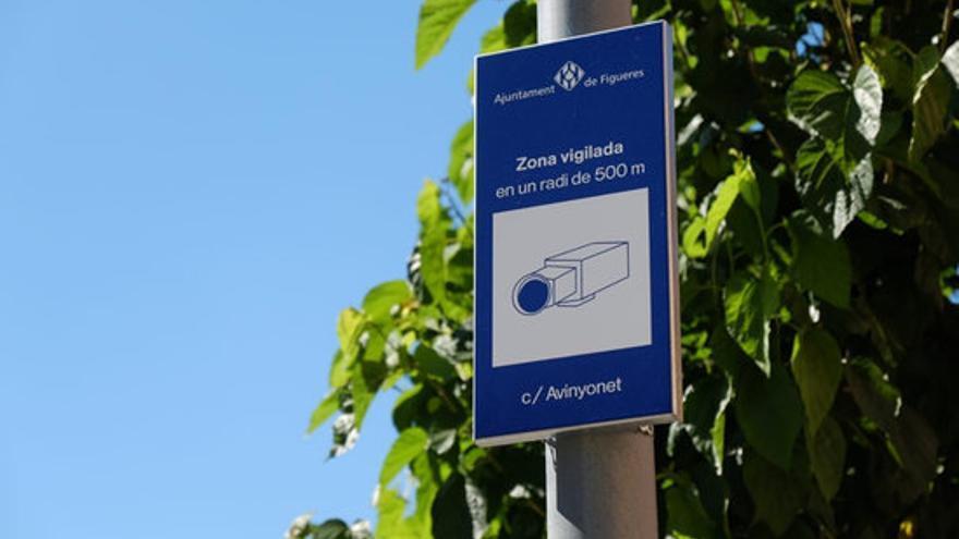 Figueres estudia instal·lar lectors de matrícules als accessos i preveu licitar vuit càmeres al centre properament