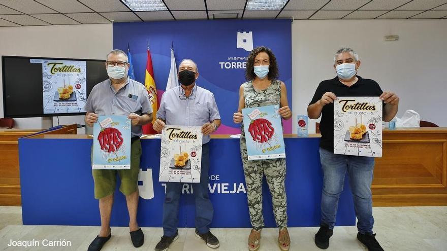 Tapas Day y las tortillas al gusto regresan a las barras de Torrevieja