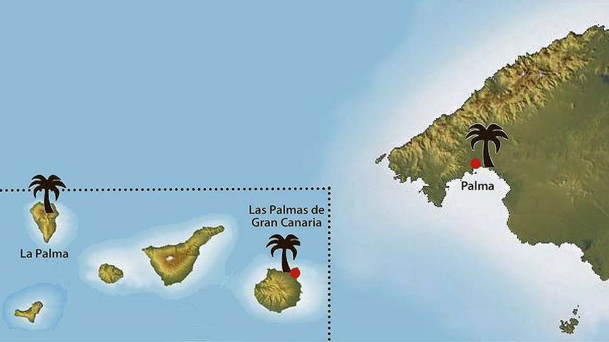 Vulkanausbruch: Wie war das nochmal mit La Palma, Palma und Las Palmas?
