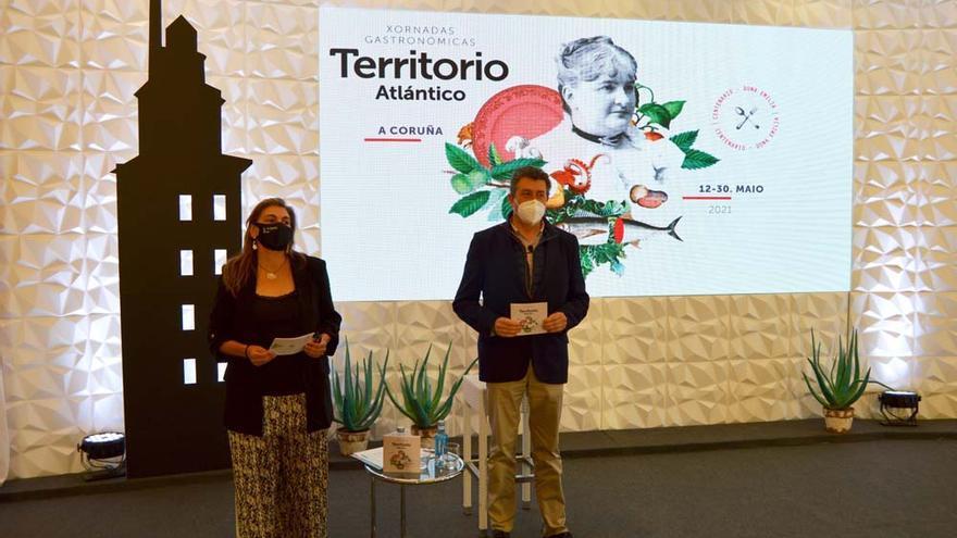 Xornadas Territorio Atlántico | Vinte locais da Coruña elaboran as receitas de Pardo Bazán