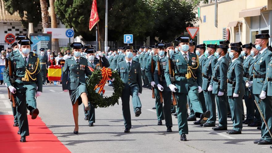 La Guardia Civil honra a su patrona y a los fallecidos por covid
