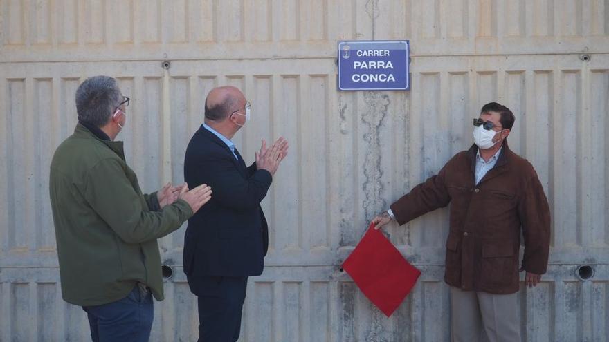 La Vila Joiosa dedica una calle a José María Parra Conca