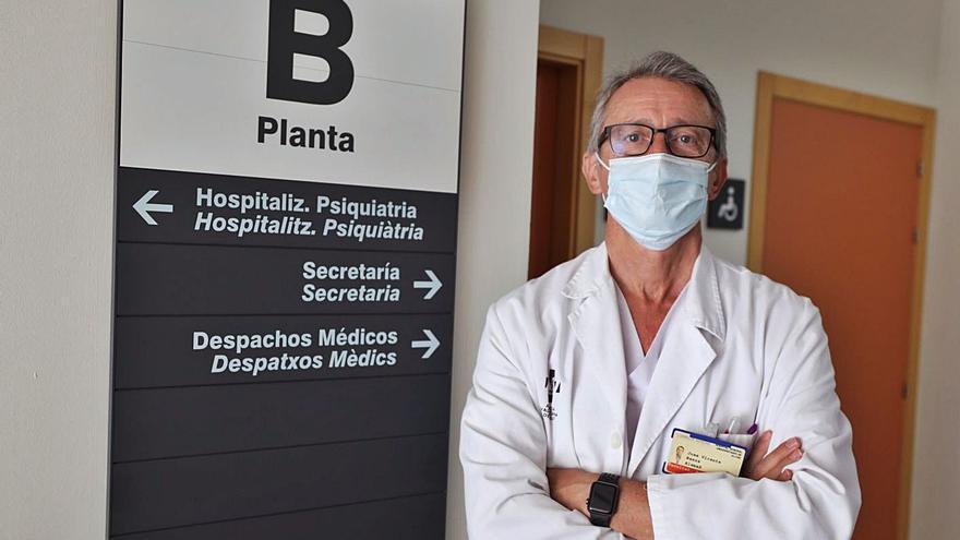 José Vicente Baeza Alemañ: «Están aumentando los casos de depresión y ansiedad, pero no los trastornos mentales graves»