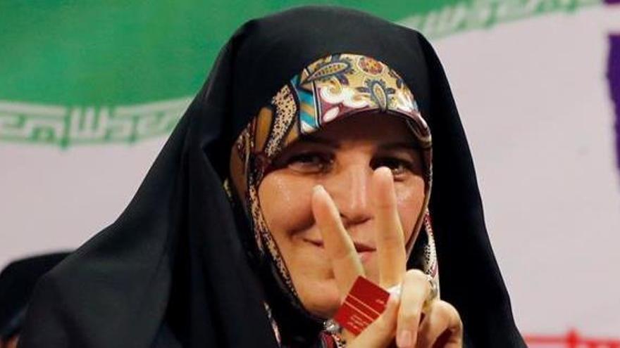 Irán condena a prisión a la que fue vicepresidenta con Rohani
