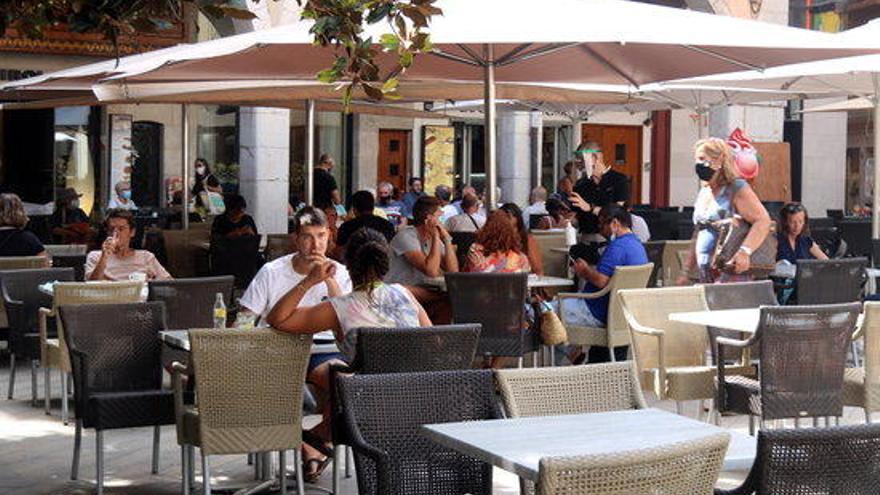Figueres no cobrarà la taxa d'ocupació de via pública a restauració i marxants