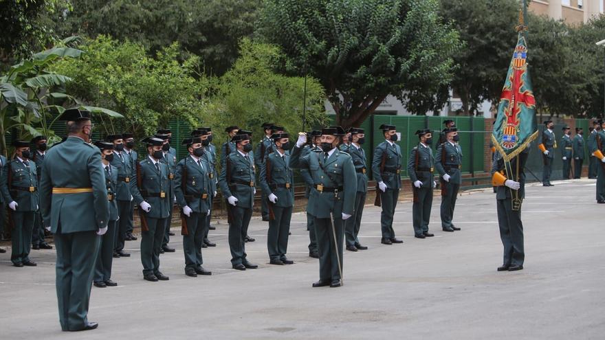 La Guardia Civil de Castellón vuelve a celebrar su día grande tras dos años de parón por la pandemia