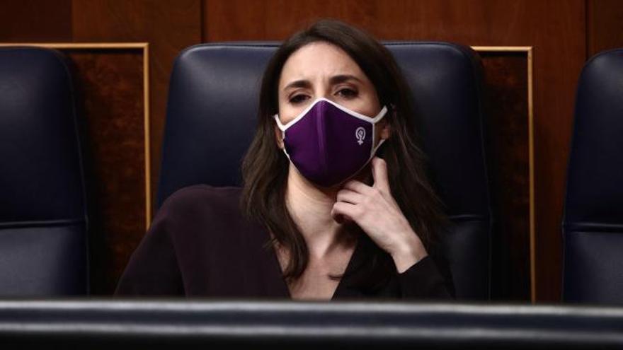 """El Poder Judicial rechaza por unanimidad la ley del """"solo sí es sí"""" de Irene Montero"""