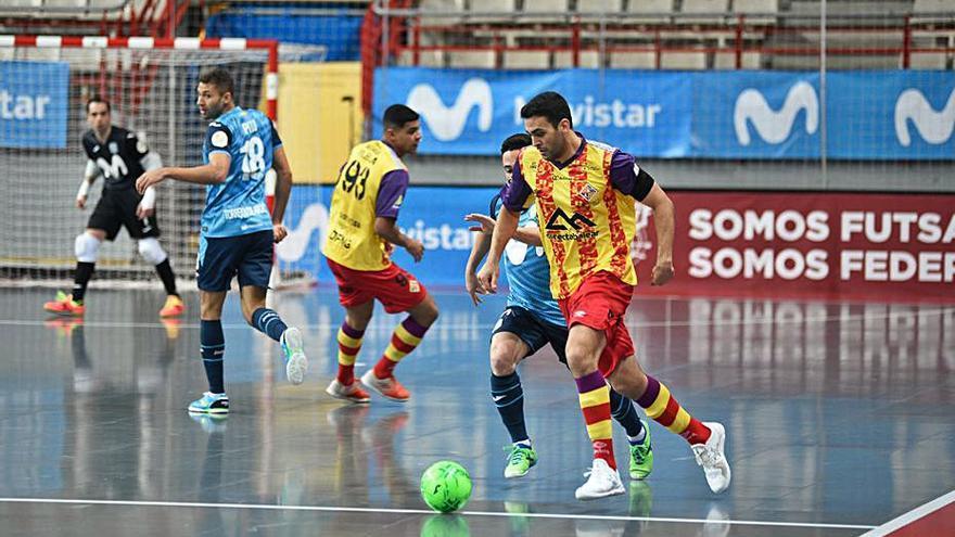 La falta de pegada condena  al Palma Futsal ante el Inter