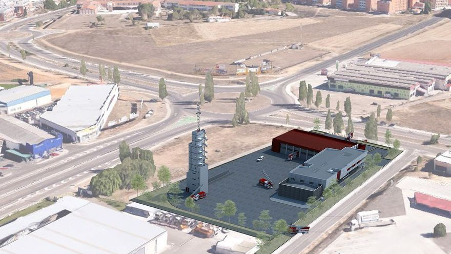 El nuevo parque de bomberos de Zamora, una realidad de 2,5 millones