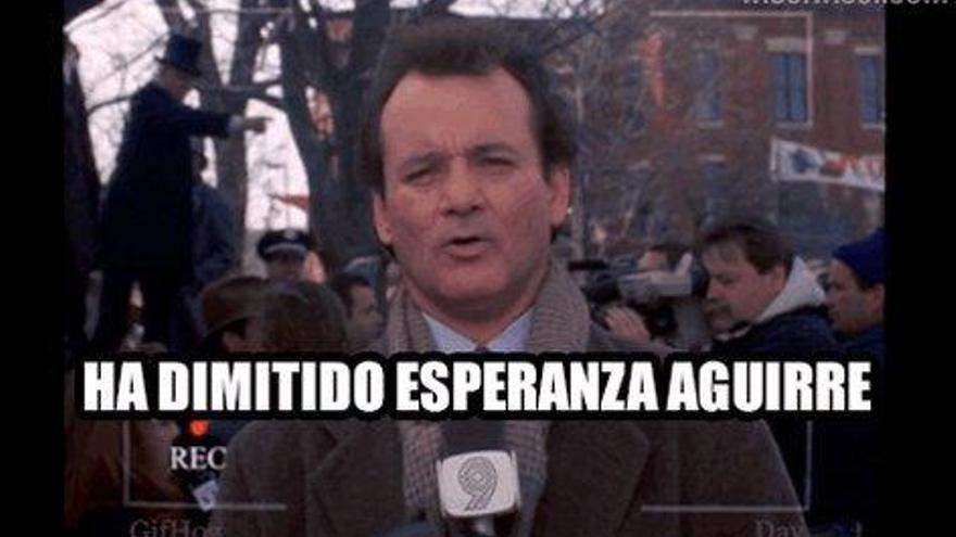 Los mejores memes de la dimisión de Esperanza Aguirre (capítulo 3)