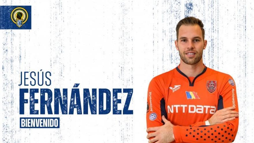 El excanterano del Real Madrid Jesús Fernández, nuevo portero del Hércules