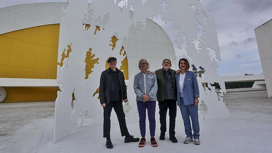 La colección artística propia del Centru Niemeyer ta valorada en 800.000 euros