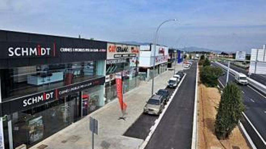 L'Ajuntament de Figueres ultima l'ampliació de la zona turística fins a Vilatenim
