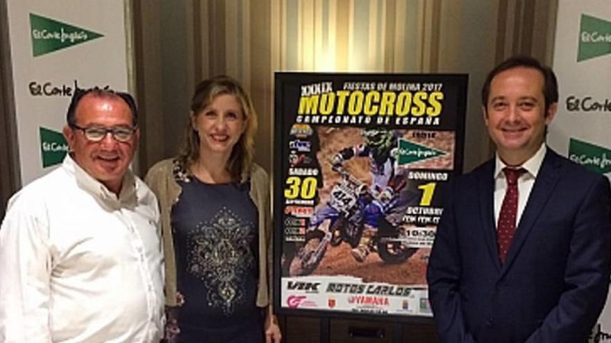 El Motocross de Molina-Trofeo El Corte Inglés reunirá a los mejores pilotos del país