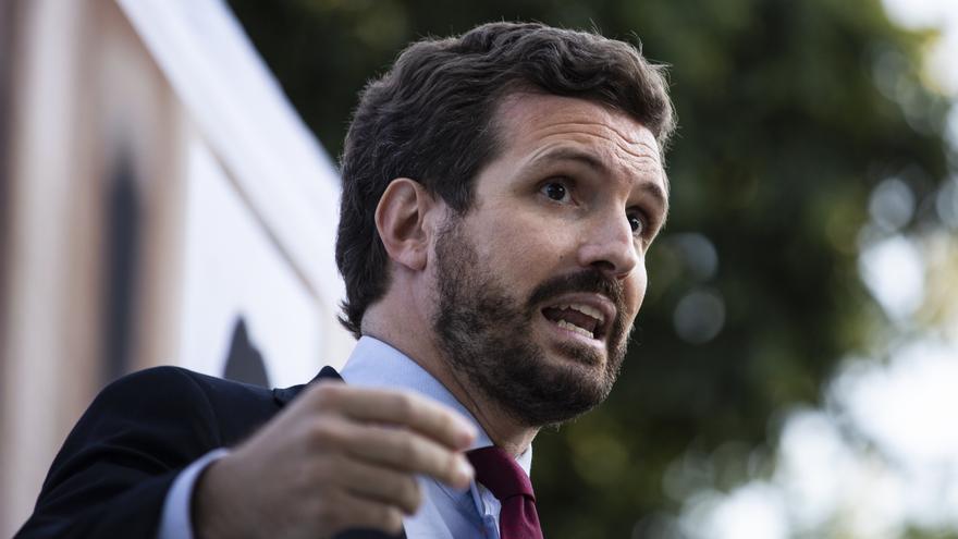 """Casado augura que Sánchez dejará """"un país absolutamente destrozado"""""""