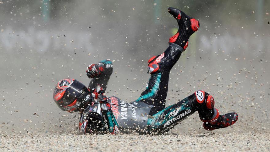 Roberts repite 'pole' en Moto2