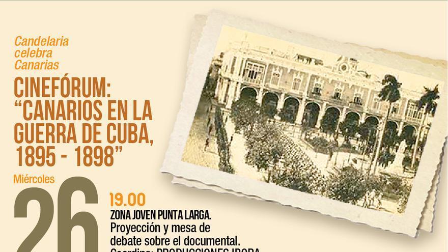 Cinefórum: Canarios en la Guerra de Cuba, 1895-1898