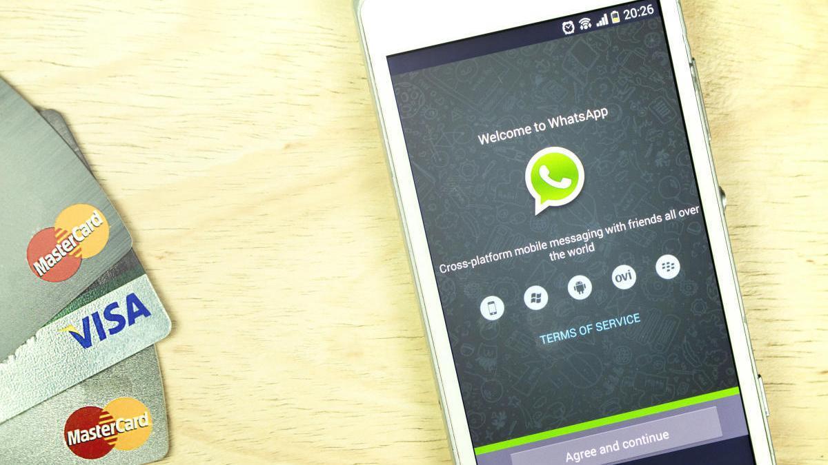 Com funcionarà el pagament mòbil de Whatsapp