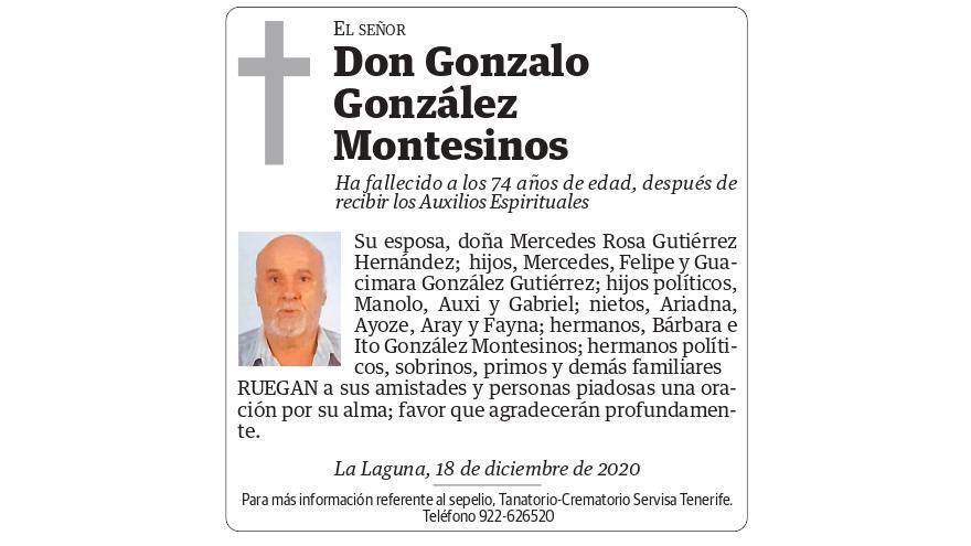 Gonzalo González Montesinos