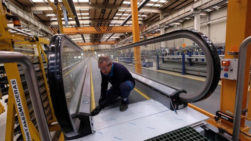 TK innova en Gijón la automatización de las pasarelas que fabrica en Mieres