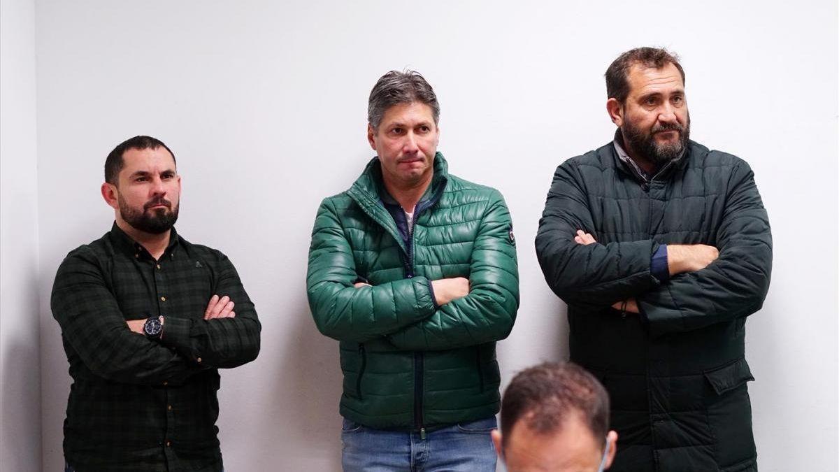 Jorge Rodríguez de Cózar, a la izquierda, junto a Alfonso Serrano, durante su etapa en el Córdoba CF.