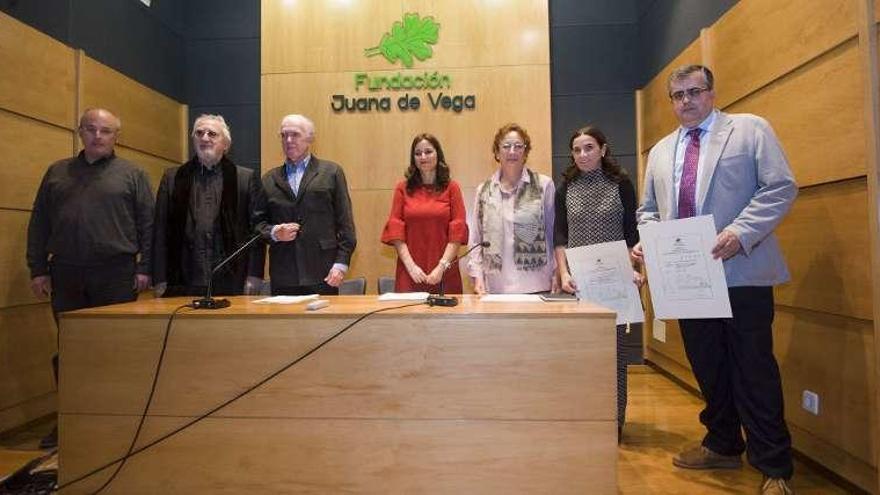 La Fundación Juana de Vega premia la restauración de las lagunas de Cospeito