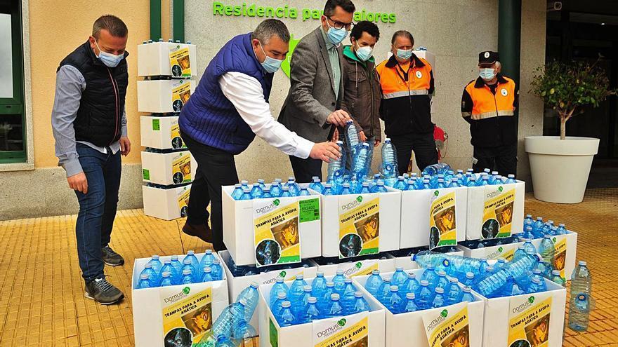 DomusVi entrega más de 300 trampas para velutinas para servicio municipal
