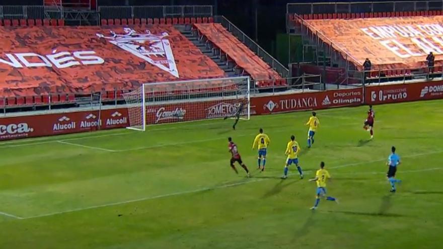 Vídeos de los goles y resumen del partido CD Mirandés 2 - 0 UD Las Palmas