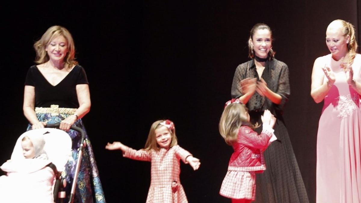 Mila Ximénez participó en un evento benéfico por la lucha contra el cáncer en Vigo