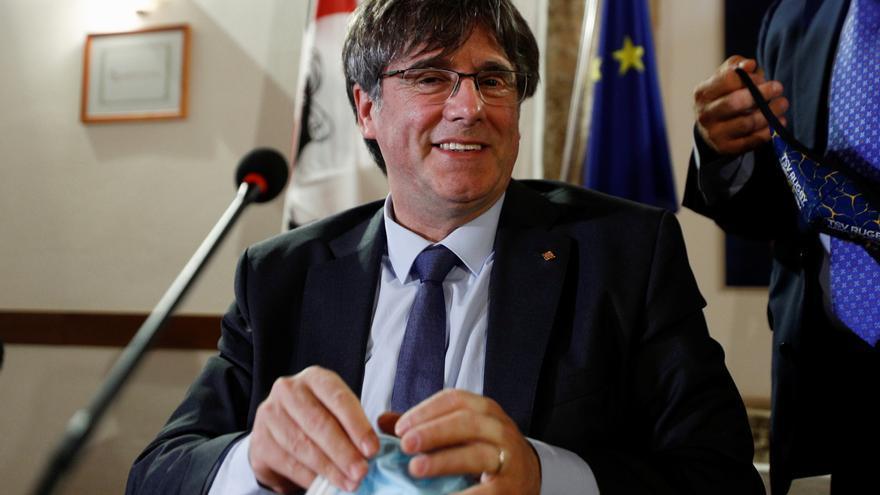 El TC avala las euroórdenes cursadas contra Puigdemont y el resto de huidos