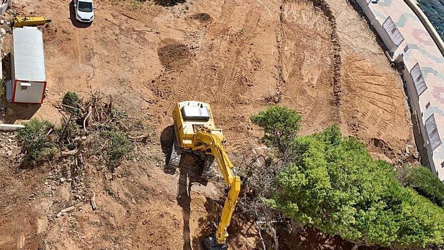 El fiscal pide a Patrimonio que aclare si unas obras  en la costa de Calp pueden dañar restos arqueológicos