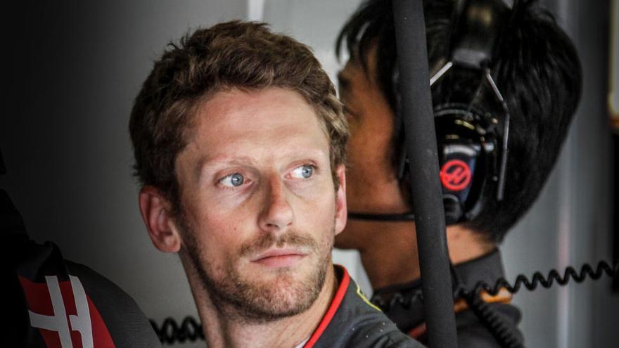 Grosjean, operado de nuevo en la mano tras su accidente
