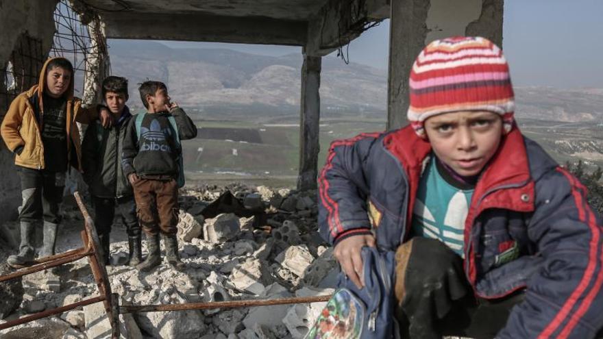 Unos 149 millones de menores viven en mitad de una guerra