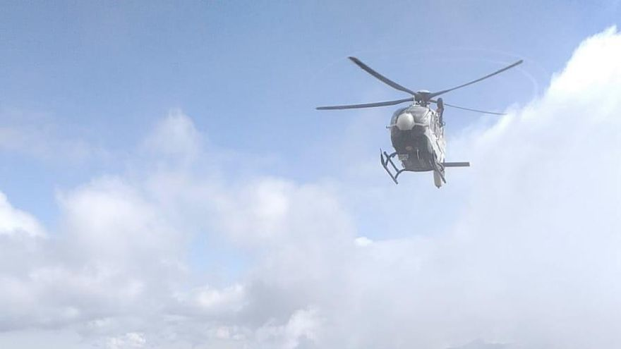 VÍDEO | La Guardia Civil tuvo que superar varios problemas para rescatar el cuerpo del holandés fallecido