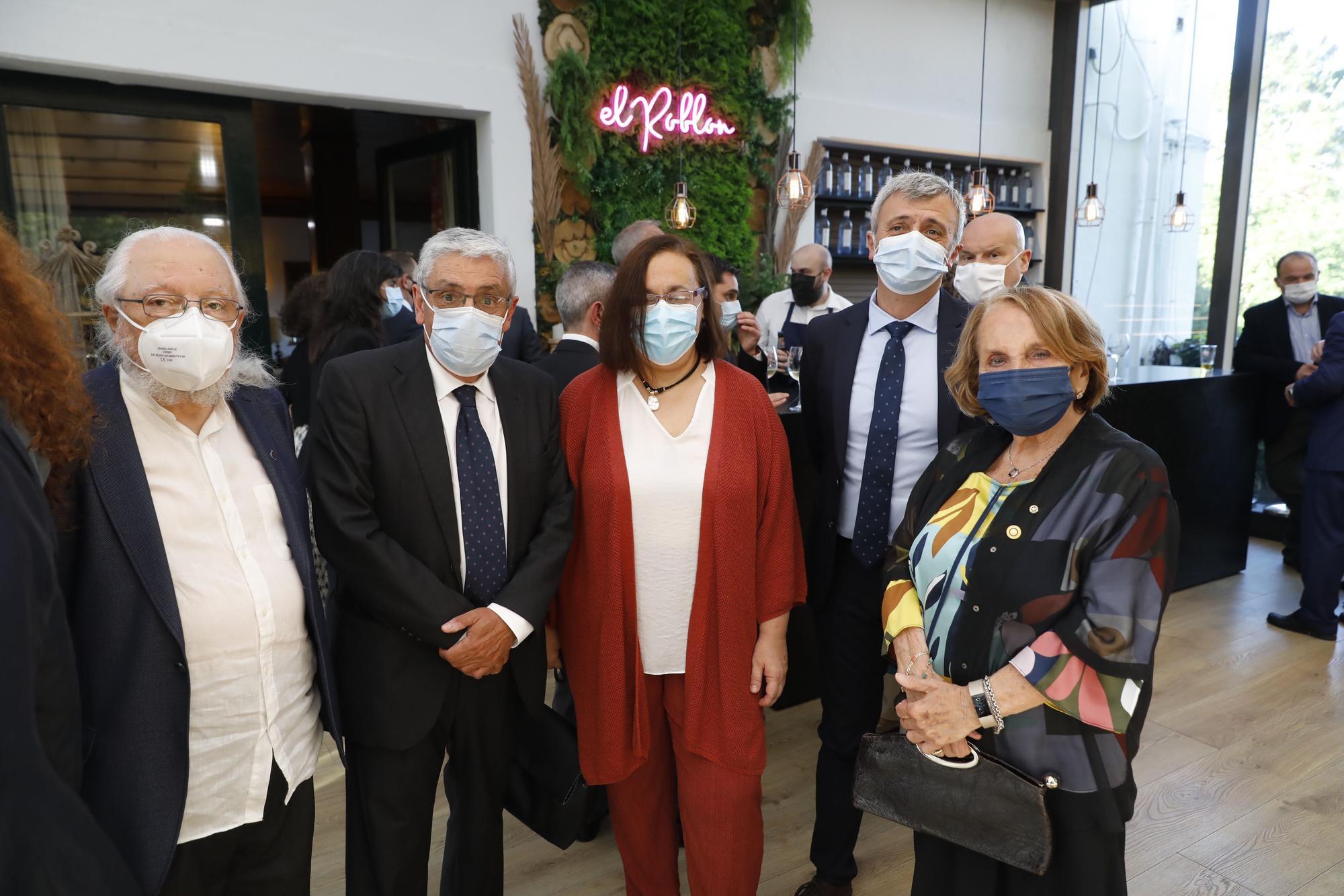 Ceremonia del Club Rotario de Gijón