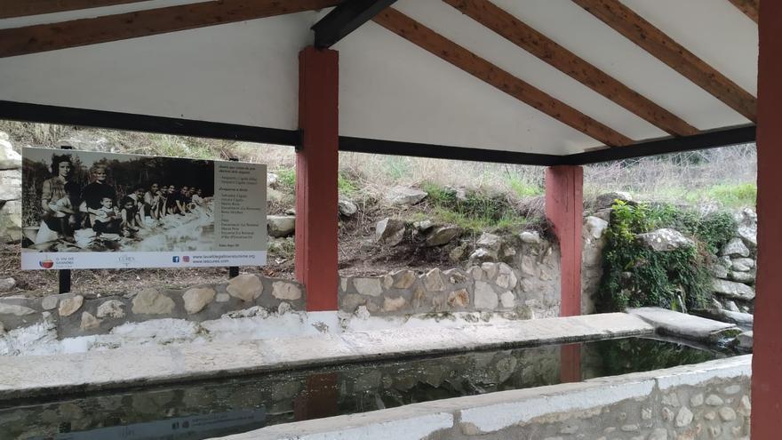 """La Vall de Gallinera saca a la luz en sus """"llavadors"""" el trabajo invisibilizado de sus mujeres"""
