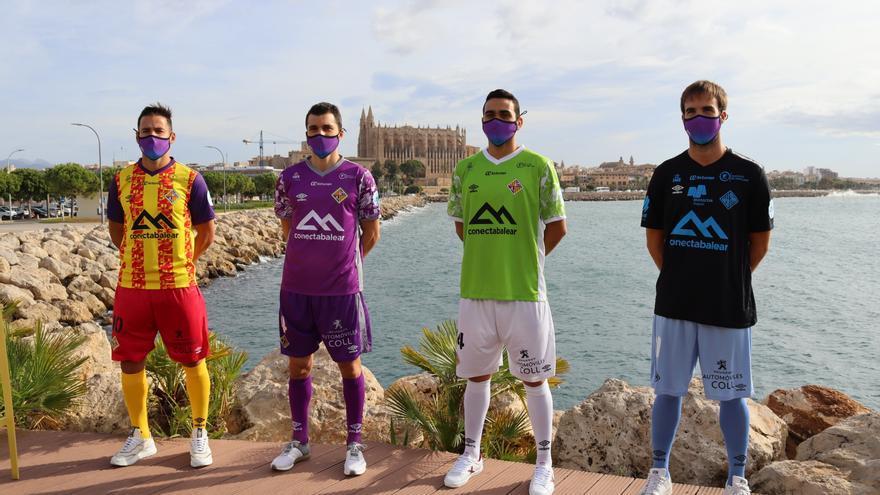 El Palma Futsal ha presentado este mañana las equipaciones de su equipo para la temporada 2020/21