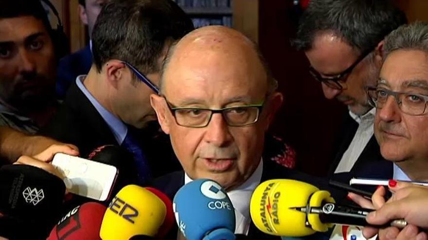 Montoro justifica la amnistía fiscal por la situación en 2012