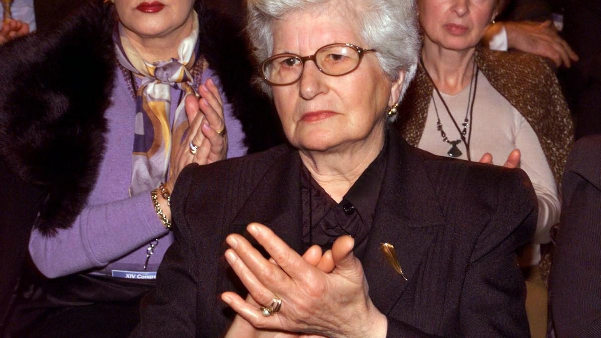 Consuelo Fenollar, madre de Gregorio Ordóñez