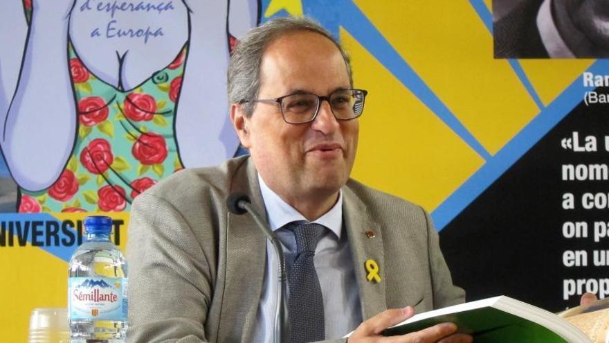 """Torra advoca per una nova etapa de """"confrontació"""" i """"ruptura"""" amb l'Estat"""